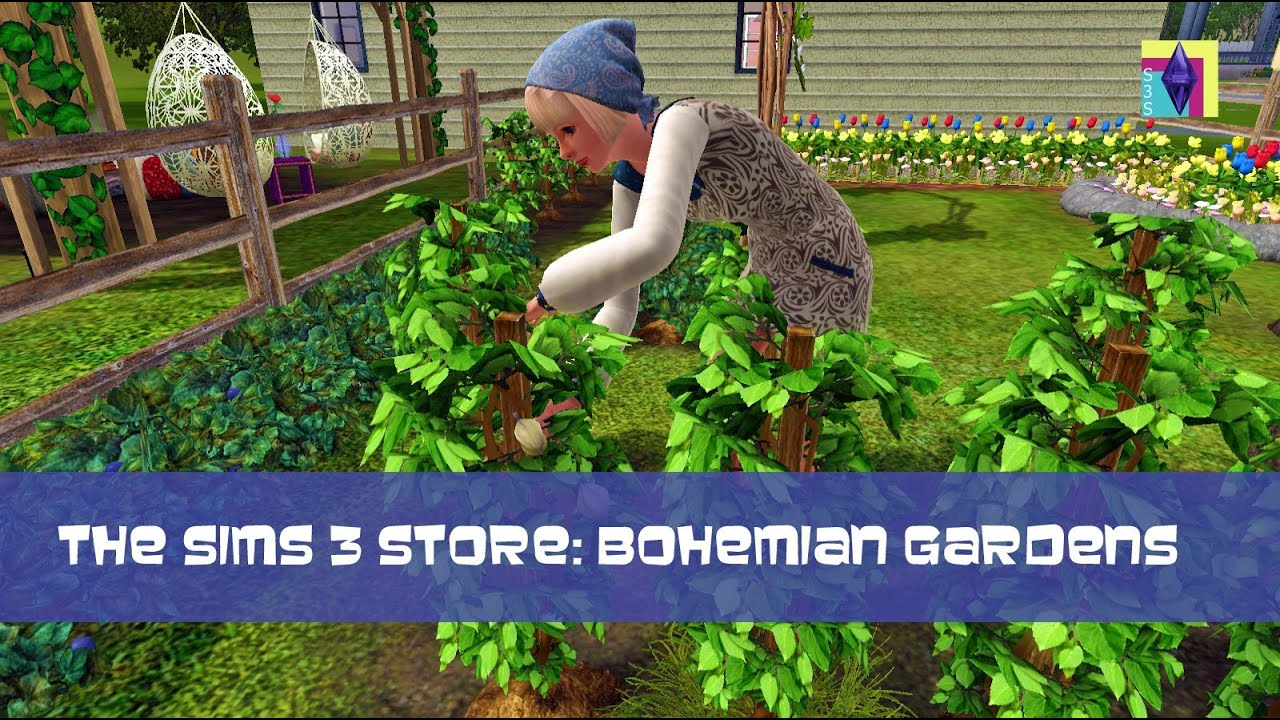 Sims 3 Store Overview Review Bohemian Gardens Youtube