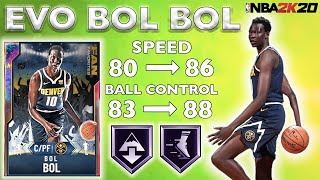 GALAXY OPAL EVO BOL BOL GAMEPLAY! HE IS A FREAK ON BOTH ENDS OF THE COURT IN NBA 2K20 MYTEAM!