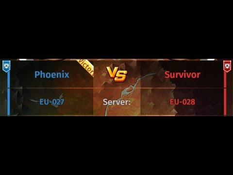 Hyper Heroes Guild Wars EU-027 Phoenix Vs. EU-028 Survivor