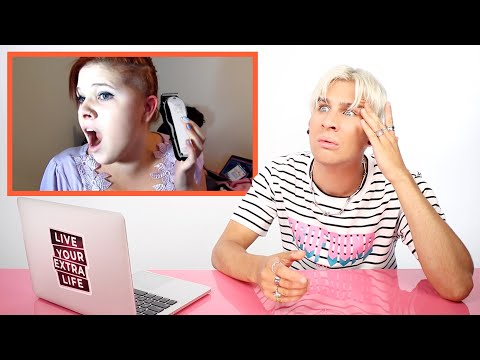Hairdresser Reacts to DIY Haircut Fails and Freakouts