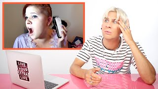 Hairdresser Reacts to DIY Haircut Fails...