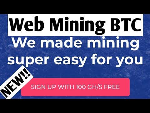 New!! Mining Bitcoin Free 100GH/s (domain 6thn)