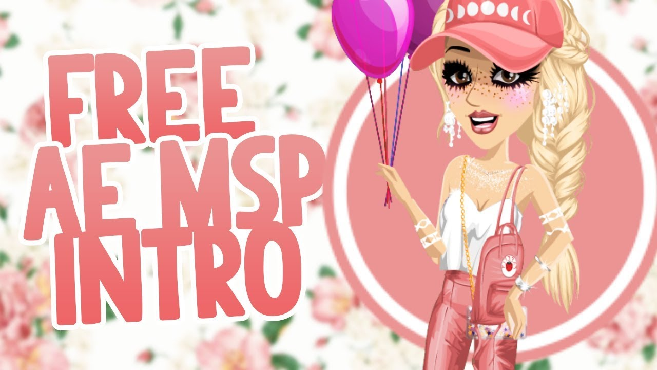 「MSP」Free After Effects MovieStarPlanet Intro Template + Tutorial // Watch me Edit
