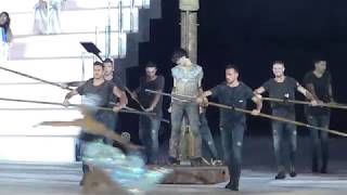 """Intimissimi on Ice 2017, 06.10.2017, Verona, St.Lambiel & Hot Shrivers, """"Il canto del mare"""""""