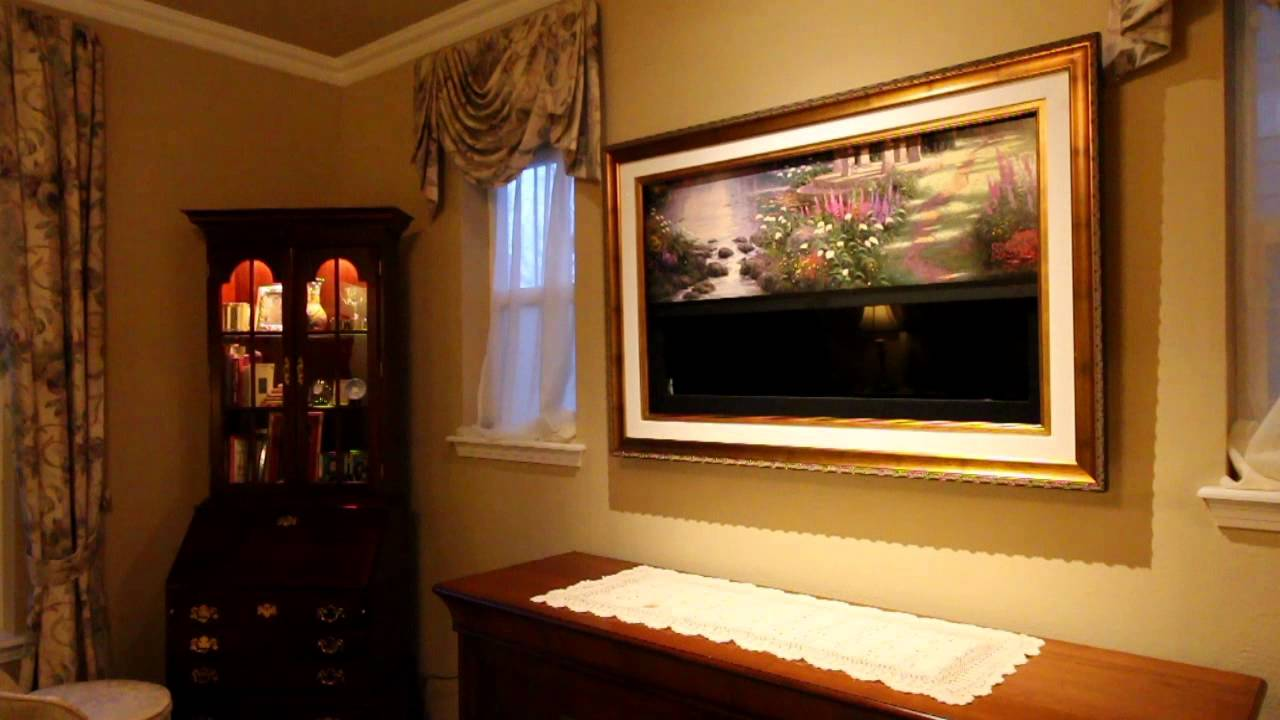 Thomas Kinkade Galleries and Frame My TV - The Garden of Prayer ...