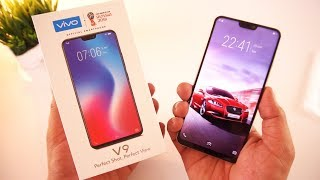 Vivo V9 Unboxing & First Impressions !!!! ( i Love Notch ) [Urdu/Hindi]
