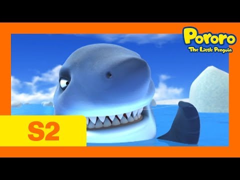 [Season 2] E16 Shark Attack! | Kids Animation | Pororo the Little Penguin