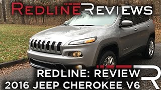 2016 Jeep Cherokee V6 - Redline: Review