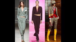 Женские костюмы осень-зима 2020-2021