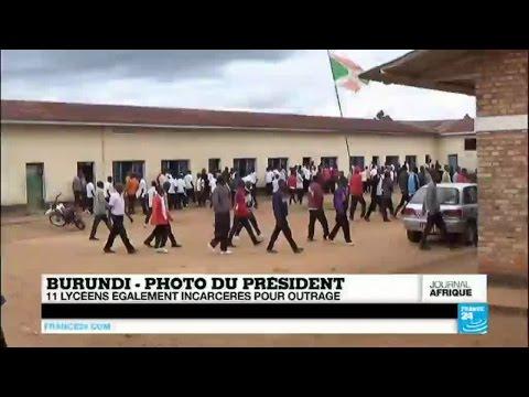 Burundi : 11 lycéens incarcérés pour outrage au président Nkurunziza