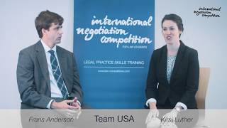 International Negotiation Competition: Why to participate?