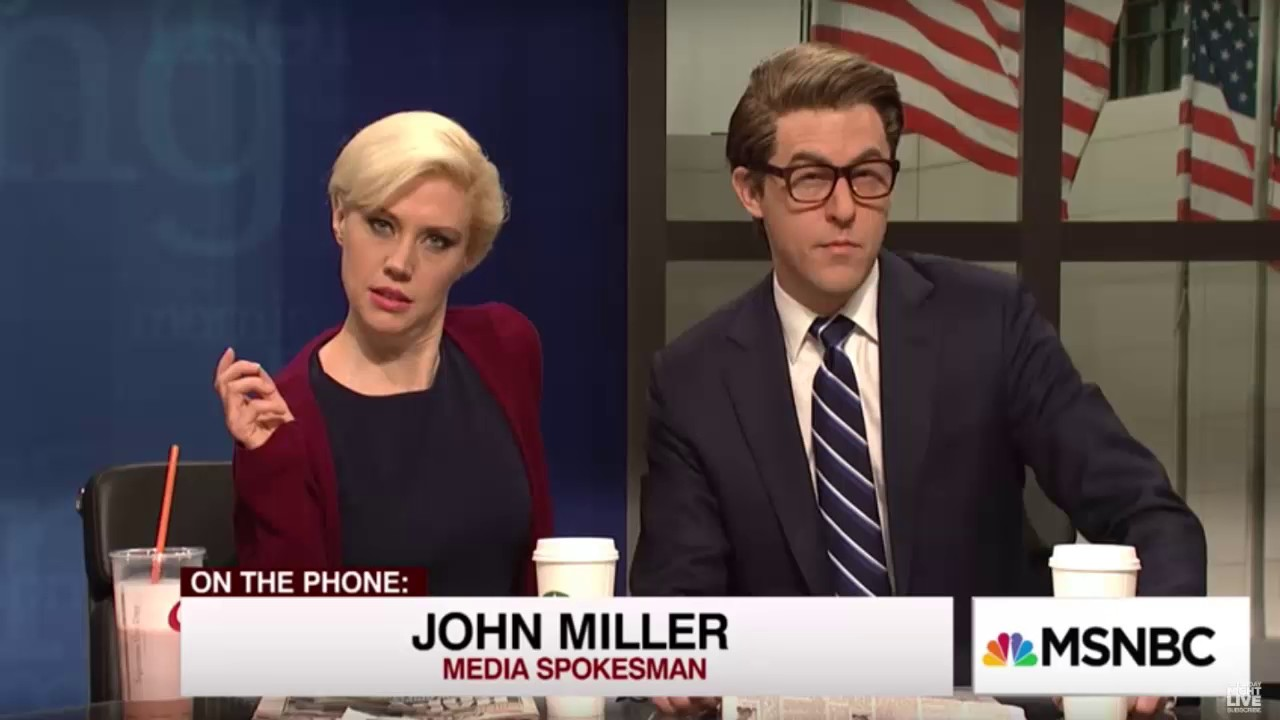 'Saturday Night Live' lampoons 'Morning Joe' hosts' engagement and 'Trumpcare'