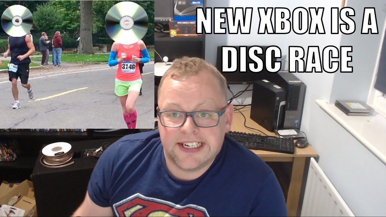 Microsoft have gone crazy! New Xbox One S with NO PHYSICAL MEDIA. It's a DISC RACE!????????