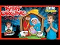 BEST MERRY CHRISTMAS STORY! Fisher Price Little People Children's Nativity Playset Joy to the World