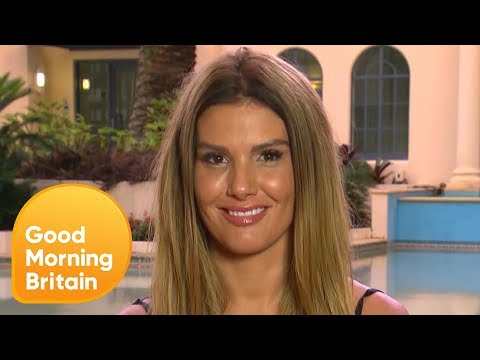 Rebekah Vardy Discusses Her 'Feud' With Campmate Iain Lee | Good Morning Britain
