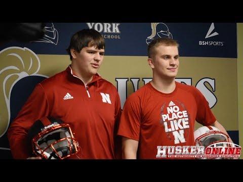 HOL HD: York's Snodgrass and Stafursky sign with Nebraska