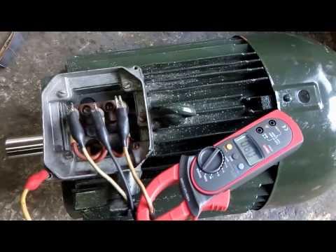 Электродвигатель 11 кВт 3000об/мин АИР132М2 (в работе)