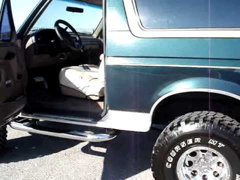 93 ford bronco eb 4x4 part 2 youtube. Black Bedroom Furniture Sets. Home Design Ideas