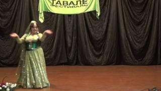 Надежда Шабинская. Индийский танец (08.10.2011)