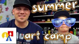 Turbo Tuesdays Summer Art Camp + April Art Contest