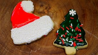 BEST COOKIE ICING! NO EGGS!  A REALLY RETRO HOLIDAY!
