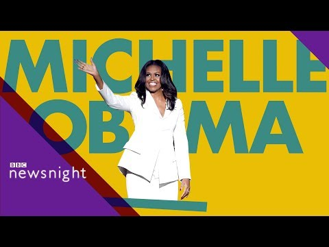 Why are we mad about Michelle Obama? - BBC Newsnight