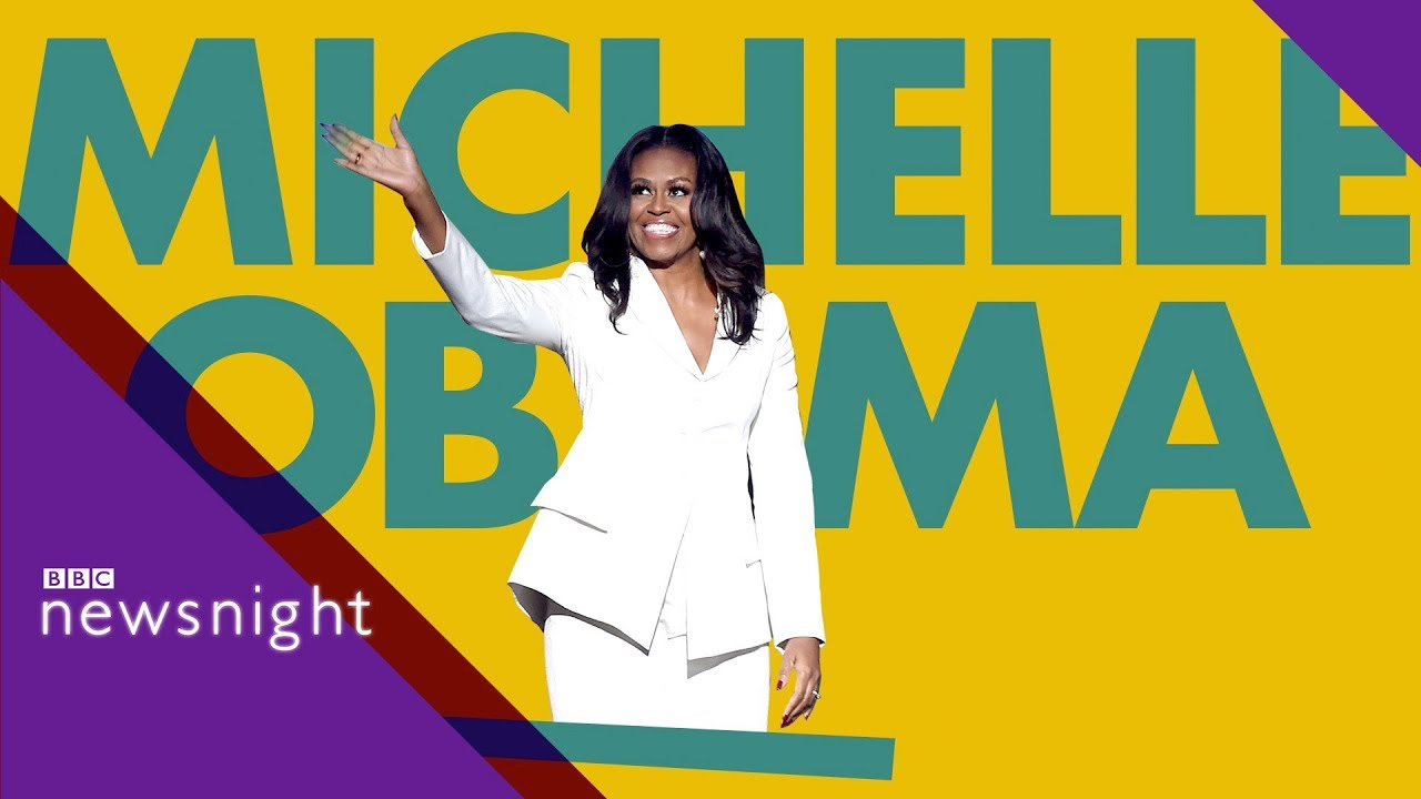 886981cbf8 Why are we mad about Michelle Obama? - BBC Newsnight - YouTube