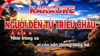 Karaoke Người Đến Từ Triều Châu Tone nam - người đến từ triều châu karaoke nhạc sống tone nam