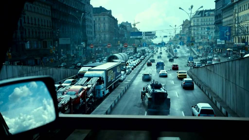 Download A Good Day To Die Hard   'Car Chase'   Clip HD