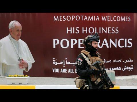 العراق.. استعدادات أمنية مكثفة لزيارة بابا الفاتيكان