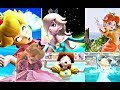 Princess Peach, Princess Daisy and Rosalina Animations - SUPER SMASH BROS ULTIMATE