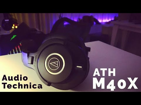 Audio-Technica ATH-M40X Review. The Closed-Back Sweet Spot!