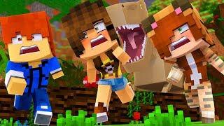 Minecraft Daycare - DINOSAUR ATTACK !?