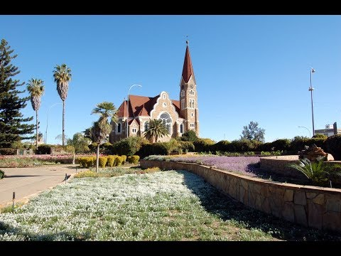 Windhoek in Namibia, Khomas Highland,  pastoral communities, social, economic centre