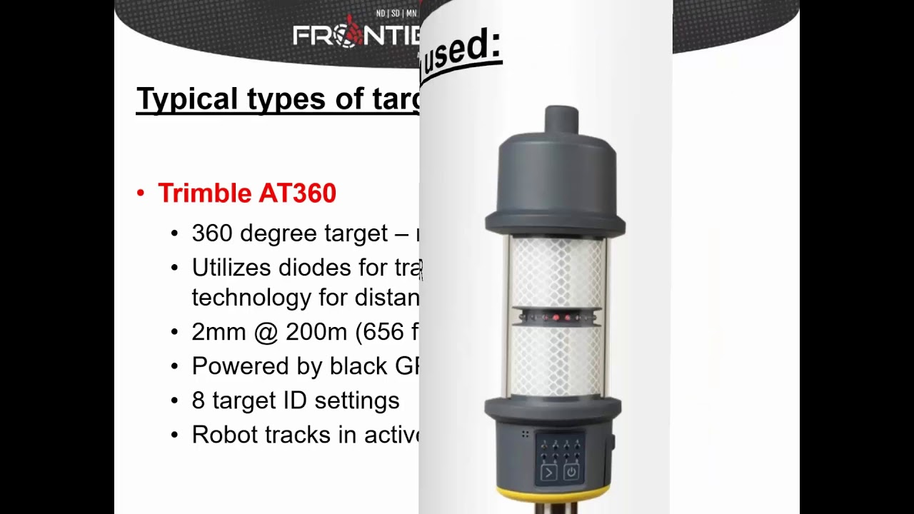 Best Practices for Trimble Total Stations & Targets