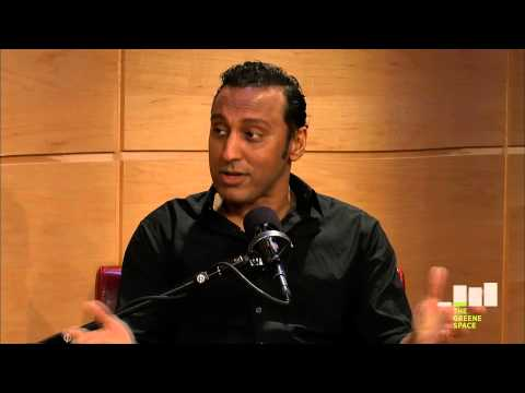 Aasif Mandvi's first day at The Daily Show, Live in The Greene Space