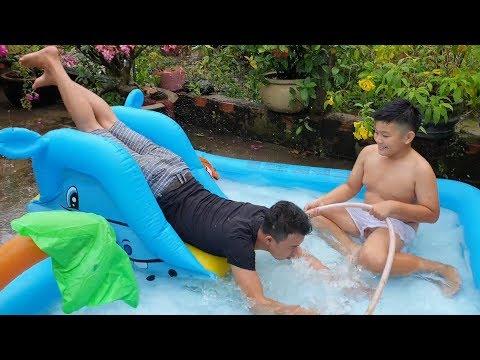 Trò Chơi Bé Pin Giải Trí Nước ❤ ChiChi ToysReview TV ❤ Đồ Chơi Trẻ Em Baby Doli Fun Song Bài Hát Vần