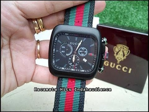 15cf2af1d42 Gucci Watch - 131.2  leather band  --Review-- - YouTube