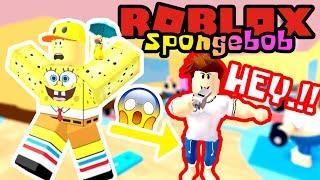 SPONGEBOB FORCED SPORTS CRAZY TRAINER!! 💪🤣-ROBLOX Spongebob United Kingdom