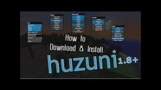 How to Download Huzuni Hack client 1.8-1.8.8