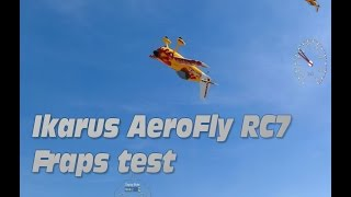 AeroFly RC7 Ultimate captured with Fraps