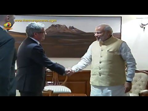 PM Narendra Modi receives France National Security Advisor Jacques Audibert