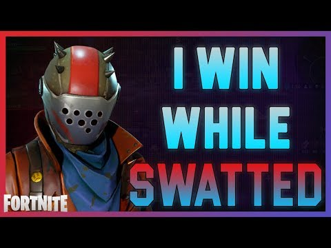Fortnite  I win even while being Swatted  DrLupo