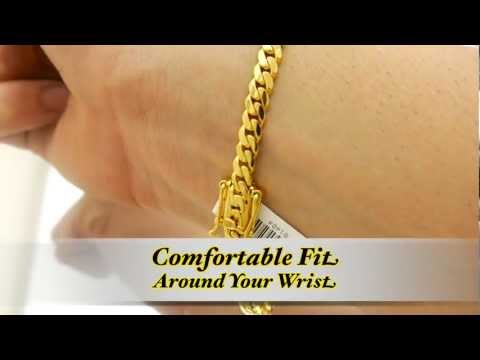5mm Miami Cuban Link Bracelet HD Daniel Jewelry Inc