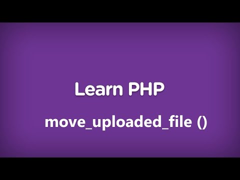 move uploaded file function in php