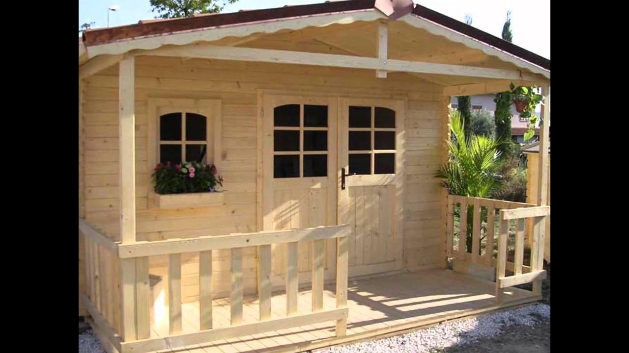 Casette in legno da giardino youtube for Bricoman casette in legno