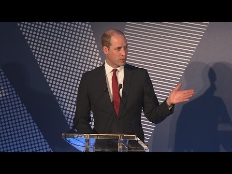 Duke of Cambridge pays tribute to mother at Diana Awards