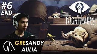 BANYAK BABI AER - Little Nightmares Indonesia | Game Horror Indonesia #6 END!