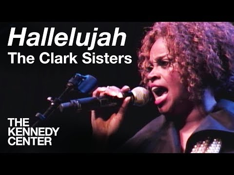 """The Clark Sisters - """"Hallelujah""""   LIVE at The Kennedy Center"""