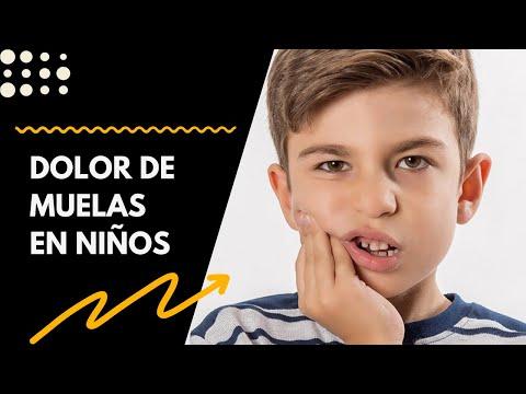 como curar el dolor de muela en niños